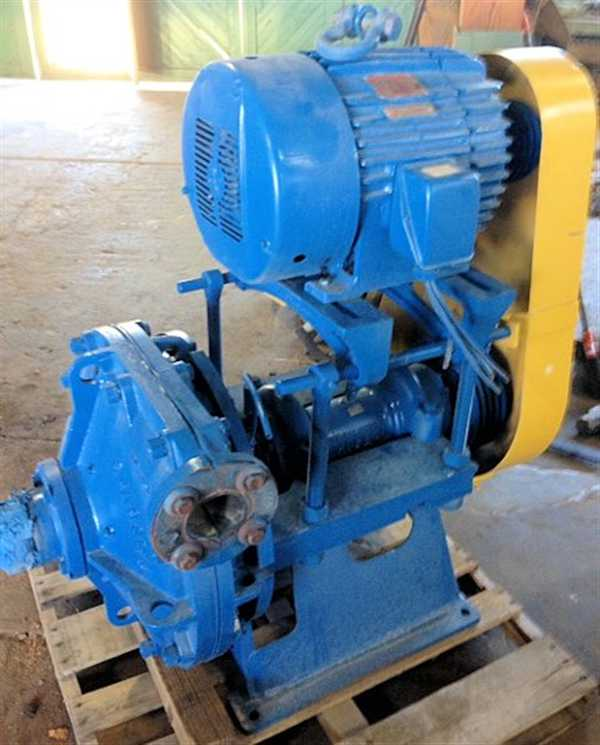 "Galigher Vacseal 3"" X 3"" Pump, Model D3vrg200 With 30 Hp Motor"