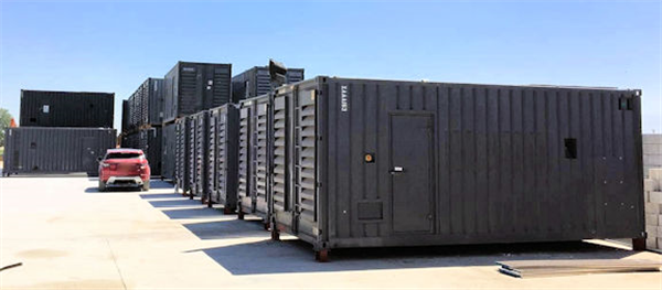 70 Units - Cummins 1250 Kw Containerized Model Qsk45-g4 Super Silent Diesel Power Package Generators, Only Test Hours