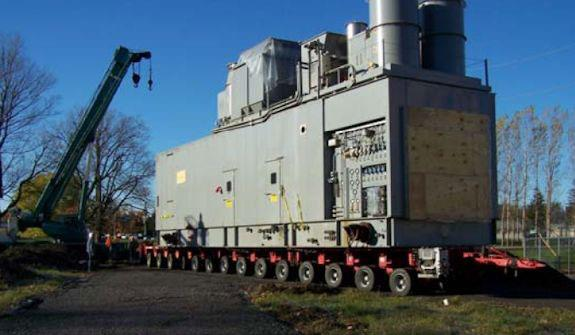 Complete GENERAL ELECTRIC Model LM6000-PA, 40 MW, 60 Hz Gas Turbine Generator