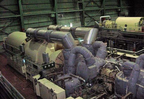 C.A. PARSONS 600 MW Thermal Generation Power Plant consisting of (4) 150 MW Steam Turbines