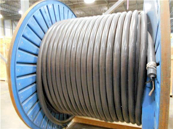 UNUSED 375 Meters PRYSMIAN 5KV Airguard CSA 3 Conductor 500 KCM Copper, Premium Design, Electrical Cable