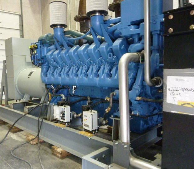 2 Units - UNUSED MTU DIESEL ENGINE Model 2000-XC6DT2, 2000 kW Generator Sets