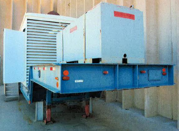 Caterpillar Model 3508 Parts Unit - 1250 Kva/1000 Kw Stand By Generator, Diesel Powered, Enclosed, On Trailer