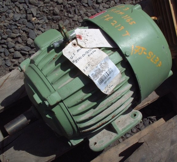 Us Motors 3 Hp Motor, 1165 Rpm