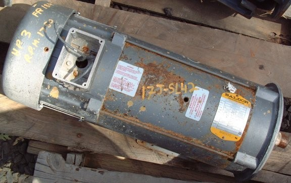 BALDOR INDUSTRIAL 3 HP Motor, 1750 RPM