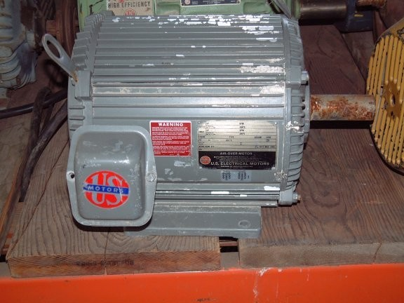 US ELECTRICAL 3 HP Motor, 1155 RPM