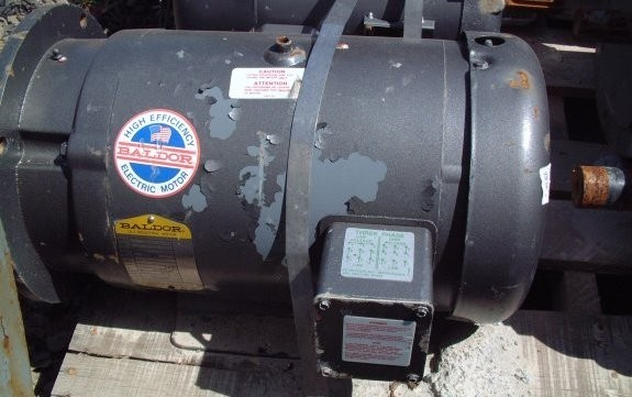 Baldor Industrial 7.5 Hp Motor, 1725 Rpm