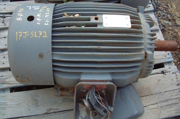 S.A. HIGH EFFICIENCY 50 HP Motor, 1750 RPM