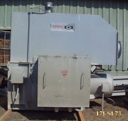 Cegelec 3000 Hp Motor, 1200 Rpm, Type Sarx63016, Previously Used As Sag Mill Drive
