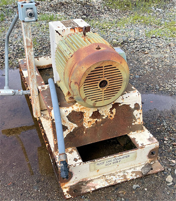 Reliance 25 Hp, 3535 Rpm Motor