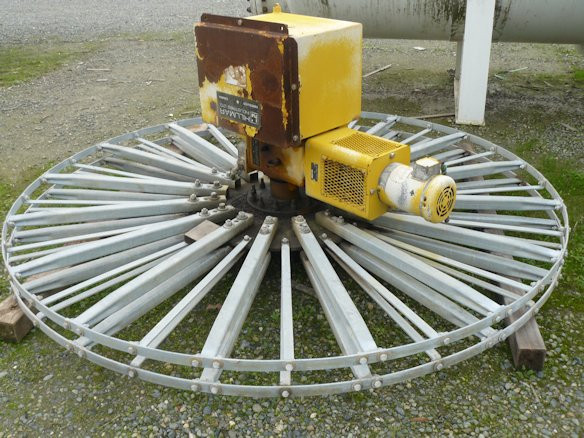 HILLMAR INDUSTRIES Cable Reel with 5 HP motor and 1-1/2 HP motor