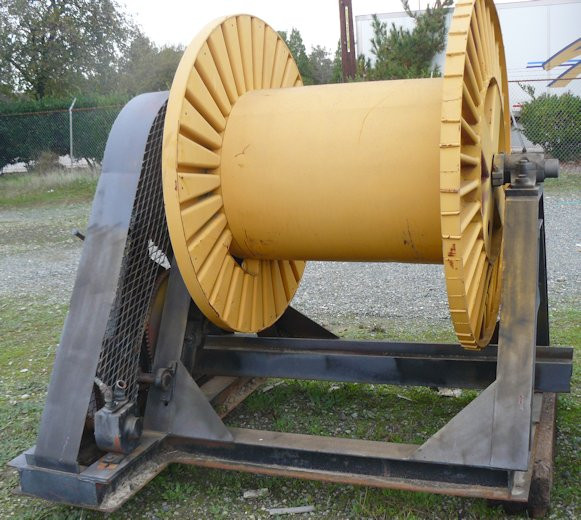 "Cable Reel, approximately 38"" wide x 56"" deep"