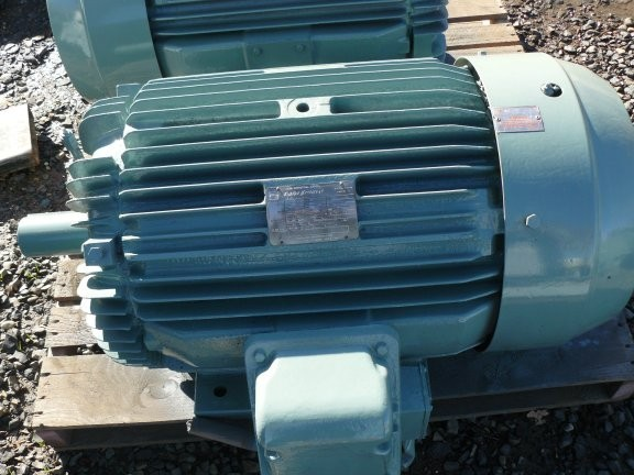 2 Units - Toshiba Energy Efficient 50 Hp Motors, 1475 Rpm, D250s Frame