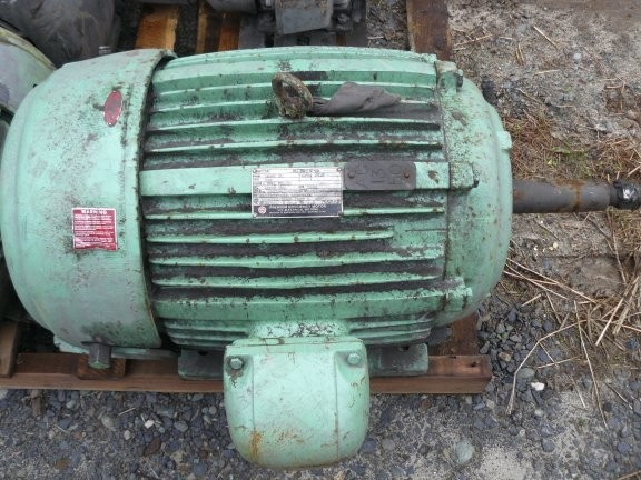 US ELECTRIC MOTOR 50 HP, 3545 RPM Motor