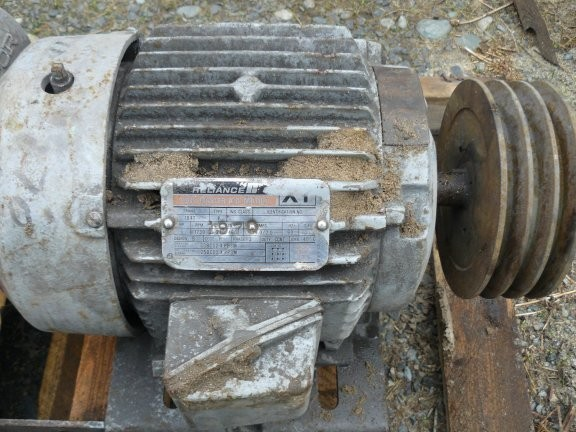 Reliance Duty Master A-c 5 Hp Motor, 1730 Rpm