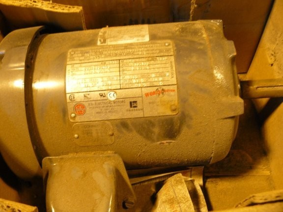 UNUSED US ELECTRIC MOTOR 1 HP, 1735 RPM Motor