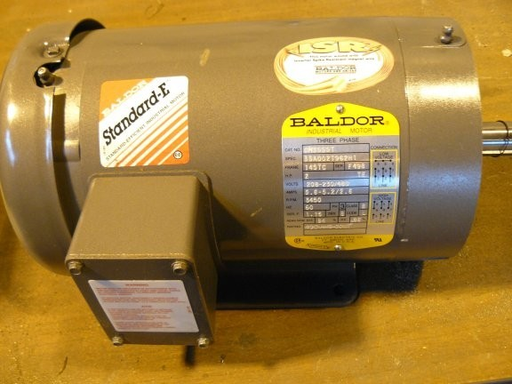 Unused Baldor 2 Hp Motor, 3450 Rpm