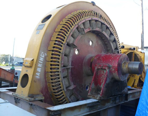 GENERAL ELECTRIC 2000 HP Synchronous Motor, 257 RPM, 60 HZ