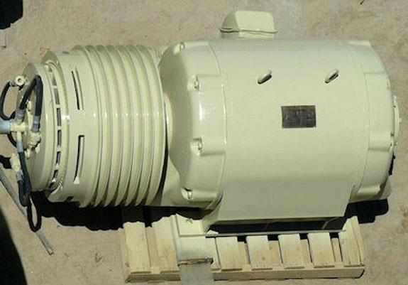 Westinghouse 200 Hp Electric Motor, 699 Rpm