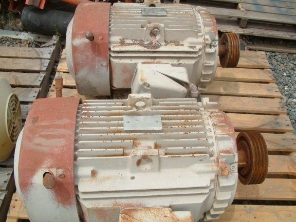 5 Units - GENERAL ELECTRIC 15 HP Motors