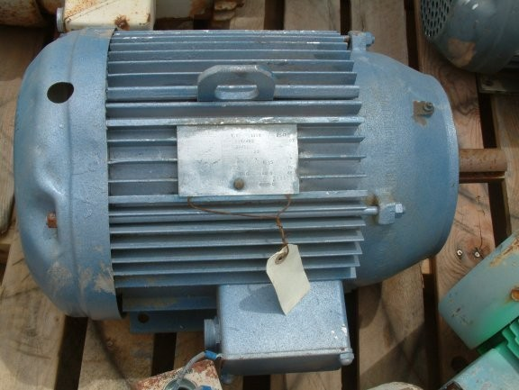 LINCOLN AC 7.5 HP Motor, 1165 RPM