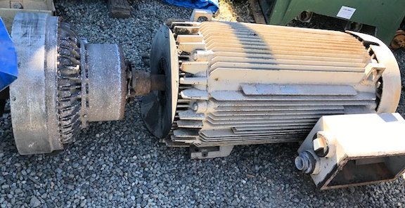 2 Units - General Electric, Ac Induction Motors, 400 Hp Motor, 1785 Rpm