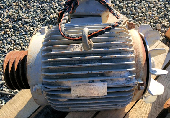 2 Units - TOSHIBA 15 HP, 1755 RPM Motors