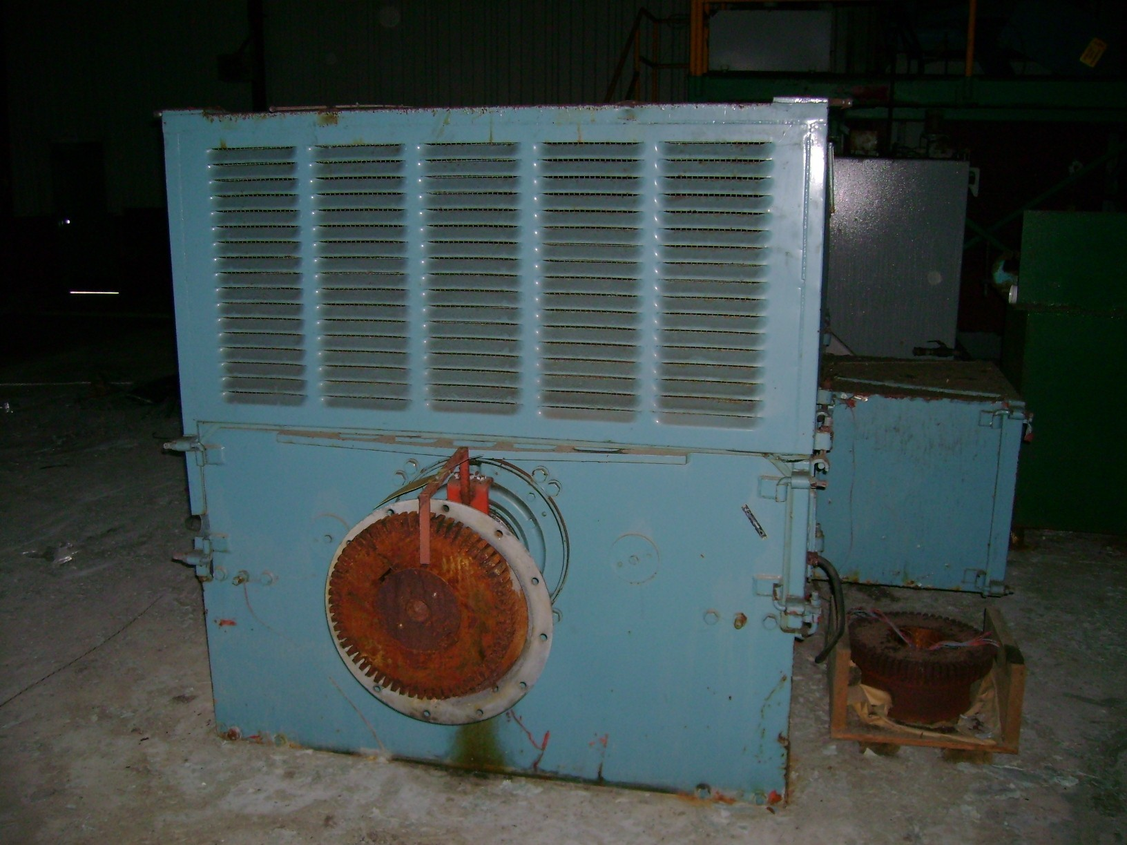 2 Units  - ASEA 2250 KW (3017 HP) Motors, 713 RPM, 6900/1695 V