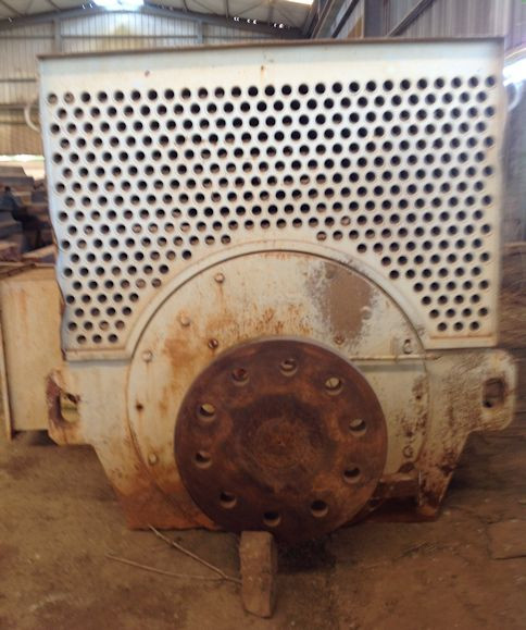 2 Units - Toshiba 1000 Kw (1360 Hp) Ac Squirrel Cage Induction Motors, 50 Hz