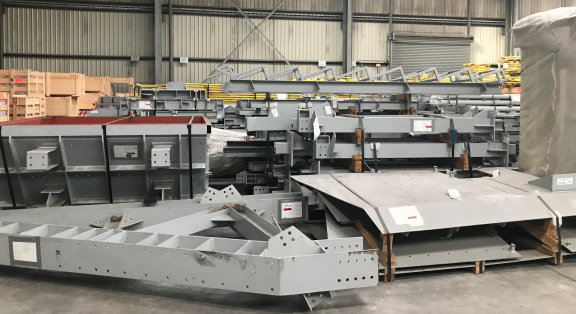 Unused Crushing And Screening Plant, Including Hp800 Crushers, Mmd Sizers, Banana Screens, Conveyors, Feeders, Transformers, Pumps And Much More
