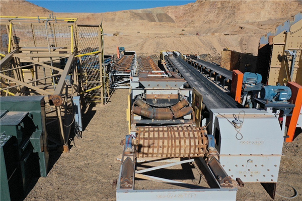 13.5k Tpd To 20k Tpd Heap Leach In-pit Semi Portable Crushing Plant