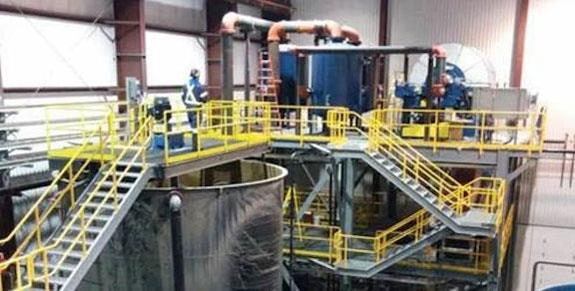"Magnetite Processing Plant With 12'7"" X 27' Ball Mill, 10"" Cyclopac, Pumps, Magnetic Separators, Air Receivers, Thickeners And Much More"
