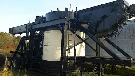 Adm Model S7228 Drum Mix Asphalt Plant, Rated At 150 Tph