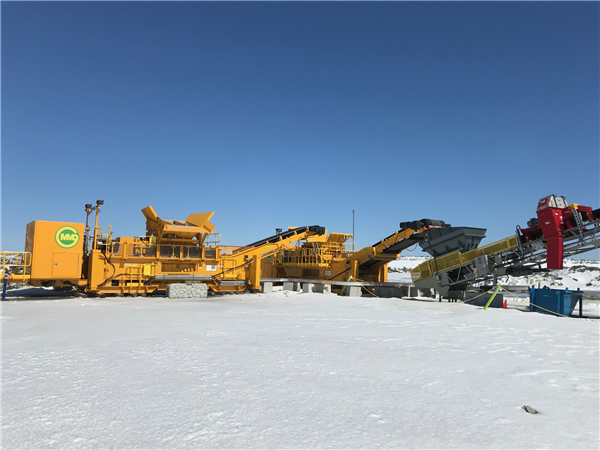 Ore Sorting Plant With Mmd Sizers & Steinert Ore Sorters