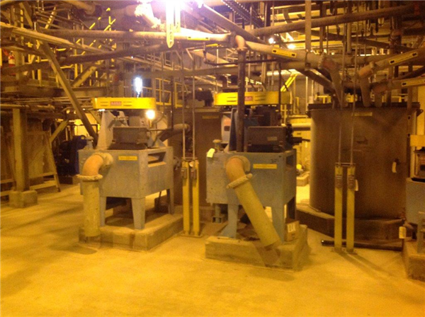 2,200 Tpd Gold & Silver Process Plant