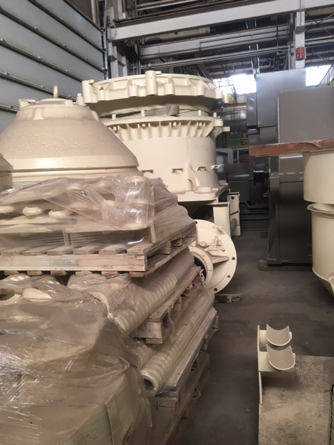 "6,000 - 10,000 TPD CRUSHING/GRINDING CIRCUIT GOLD PLANT with 32' x 12' SAG Mill, 14.5' x 28' Ball Mills, 54"" x 74"" Gyratory, 7' SH HD Cone, Rock Breaker and More."