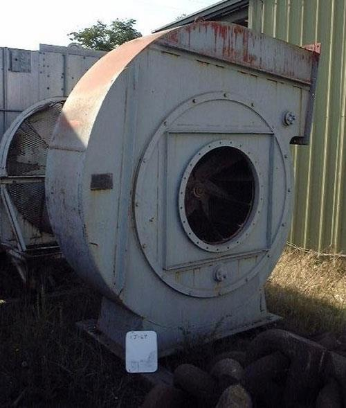 RAYMOND Mill Fan, 58in dia.,  with 30in x 24in outlet, 30in dia. inlet, S/N 51324