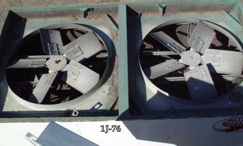 Johnson Air Rotation Heater, Model Ar-75cp-4-mg, Natural Gas