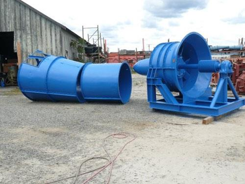 "JEFFREY Mine Fan, 60"" Dia. Aerodyne, Type 8HU, No motor Included but option for 250 HP Motor available"
