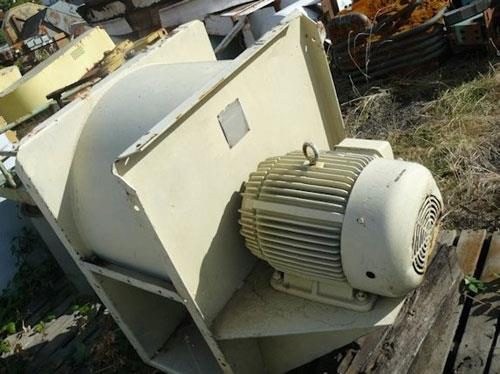 CHICAGO Blower, Size 18-1/4 axial centrifugal heavy-duty fan, 7000 CFM with 20 HP motor