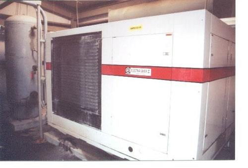 2 Units - Gardner-denver 21.000, Electra Saver Ii, Ecqqnb Air Compressors, 450 Scfm @ 100 Psig, Screw Type