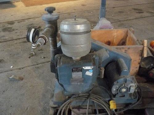 Welch Duo-seal Vacuum Pump, Model # 1397