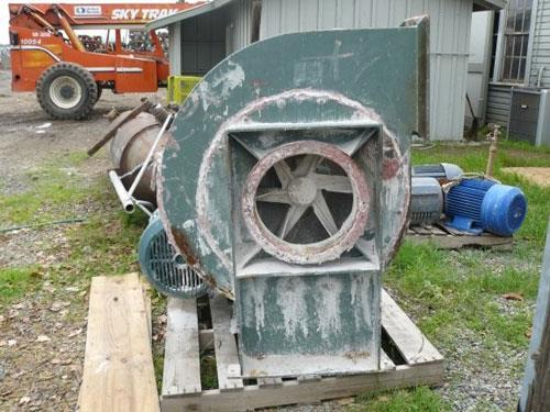 2 Units - New York Blower General Purpose Fans With 15 Hp Motors