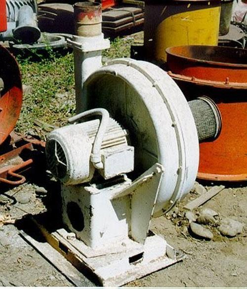 North American Model 8mgs Blower, Air-maze, 3 Hp Electric Motor