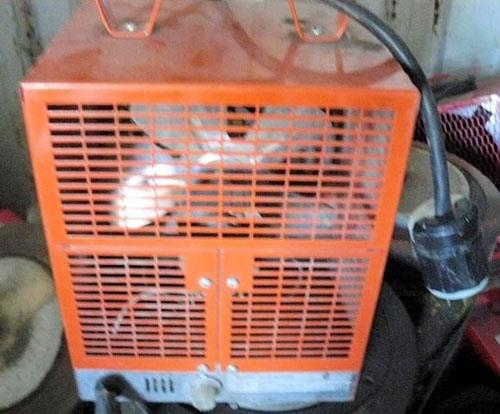 DIMPLEX NORTH AMERICA Model/Cat. DCH 4831 Portable Construction Space Heater, 4800 Watts
