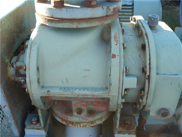 Gardner Denver Model A5cdl9k/a5cdl5k Cycloblower Piston Air Compressor With Radiator And After Cooler