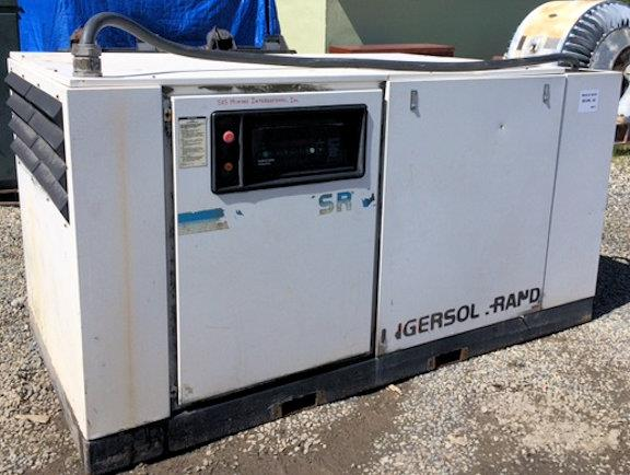 2 Units - Ingersoll-rand Model Ssr-ep100, 142 Cfm Air Compressors With 100 Hp Motors