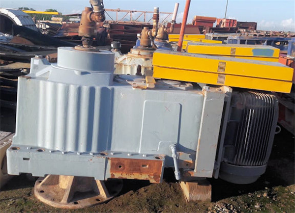 6 Units Metso Model 610-3s-mil Leach Tank Agitators With Shafts And Paddles
