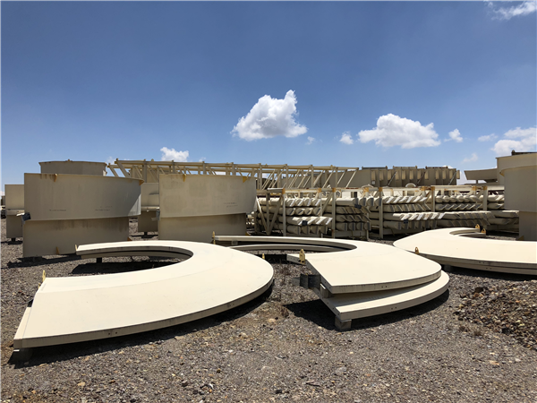 Unused Outotec 45m Hct Thickener & 18m Hrt Thickener