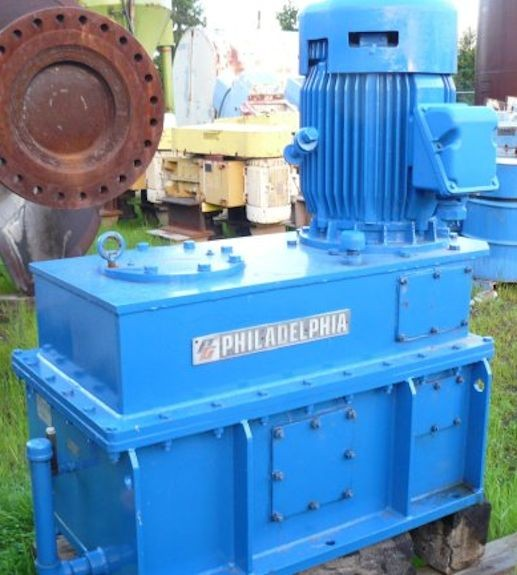 11 Units - Philadelphia 75 Hp Agitator/mixer Drives, Model Pve-11s, 1765 Rpm In, 29 Rpm Out